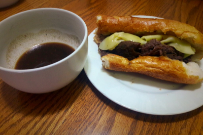 Venison Roast French Dip