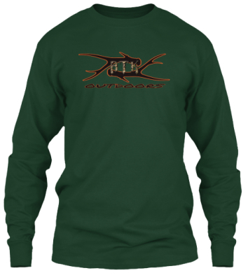 Green Antler Shed Long Sleeve Tee